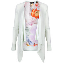Buy Ted Baker Addisyn Floral Top, Pale Green Online at johnlewis.com