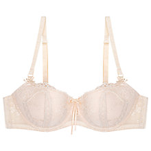 Buy Elle Macpherson Intimates French Flavour Contour Balcony Bra, Dew / Cream Tan Online at johnlewis.com