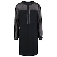 Buy French Connection Alexa Jersey Tunic Dress, Black Online at johnlewis.com