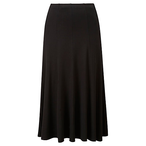 Buy Viyella Jersey Skirt, Black Online at johnlewis.com