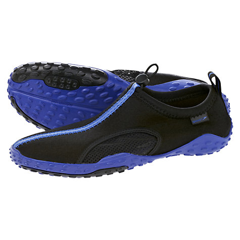 Buy Speedo Men's Shore Cruiser II Water Shoes, Blue/Black Online at johnlewis.com