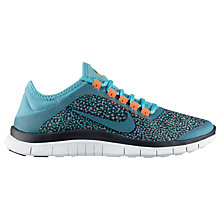 Buy Nike Free 3.0 Women's Running Shoe, Turquoise Online at johnlewis.com