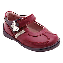 Buy Start-rite Super Soft Amy Leather Shoes, Berry Online at johnlewis.com