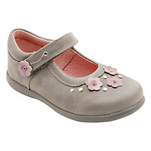 Buy Start-rite Girls' Allium Leather Shoes, Grey Online at johnlewis.com