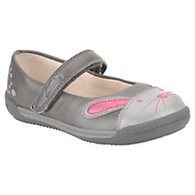 Buy Clarks Iva Bunny Shoes, Grey Online at johnlewis.com