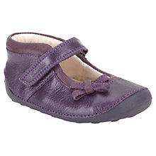 Buy Clarks Harper Leather Mary Jane Shoes, Purple Online at johnlewis.com