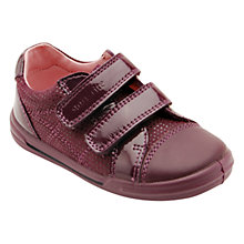 Buy Start-rite Flexi Soft Milan Leather Shoes, Purple Online at johnlewis.com