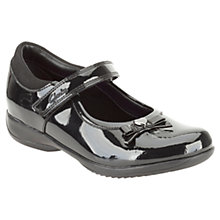 Buy Clarks Daisy Gleam Shoes, Black Patent Online at johnlewis.com