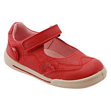 Buy Start-rite Children's Flexy-Soft Flower Shoes, Red Online at johnlewis.com