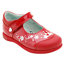 Buy Start-rite Princess Lana Patent Leather Shoes, Red Online at johnlewis.com