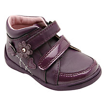 Buy Start-rite Super Soft Lilly Leather Ankle Boots, Purple Online at johnlewis.com