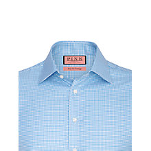 Buy Thomas Pink Kit Texture Button Cuff Shirt, Blue/White Online at johnlewis.com