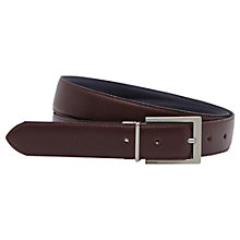Buy Reiss Calloway Reversible Leather Belt Online at johnlewis.com