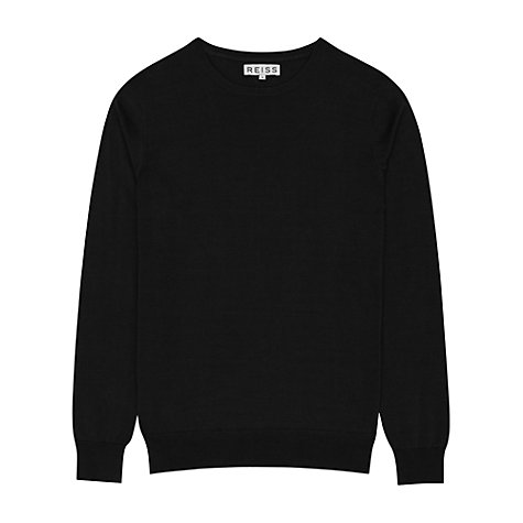 Buy Reiss Donnie Cotton Crew Neck Jumper Online at johnlewis.com