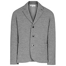 Buy Reiss Meadow Boiled Wool Blazer, Grey Online at johnlewis.com