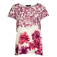 Buy Weekend by MaxMara Silk Nevis Top, Milk Online at johnlewis.com
