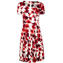 Buy Weekend by MaxMara Printed Jersey Dress, Merlot Online at johnlewis.com