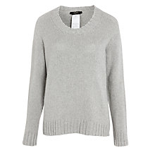Buy Weekend by MaxMara Licemza Jumper, Light Grey Online at johnlewis.com