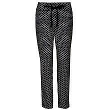 Buy Weekend by MaxMara Ada Dot Trouser, Midnight Blue Online at johnlewis.com