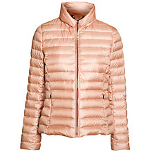 Buy Weekend by MaxMara Quilted Kent Jacket, Powder Pink Online at johnlewis.com