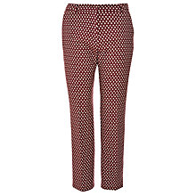 Buy Weekend by MaxMara Banda Dot Trouser, Bordeaux Online at johnlewis.com