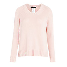 Buy Weekend by MaxMara Cashmere-blend Jumper, Powder Online at johnlewis.com