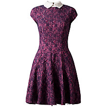 Buy Almari Jacquard Collar Dress, Multi Online at johnlewis.com