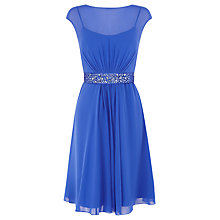 Buy Coast Lori Lee Short Dress, Blue Online at johnlewis.com