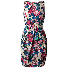 Buy Closet Pleat Shift Dress, Multi Online at johnlewis.com