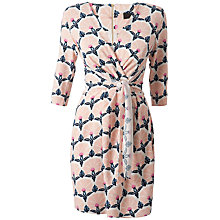 Buy Closet 3/4 Print Tie Front Dress, Multi Online at johnlewis.com