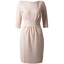 Buy Closet Waffle Tulip Dress, Pale Pink Online at johnlewis.com