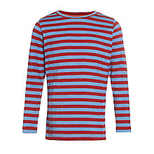 Buy John Lewis Boy Stripe Long Sleeved T-Shirt Online at johnlewis.com