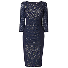 Buy Phase Eight Stephania Dress, Navy Online at johnlewis.com