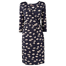 Buy Phase Eight Deauville-Collection Mini Tree Print Dress, Navy/Ivory Online at johnlewis.com