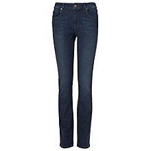 Buy Phase Eight Lucy Straight Leg Jeans, Dark Indigo Online at johnlewis.com