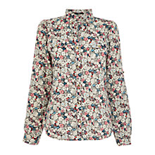 Buy Oasis Ditsy Floral Print Shirt, Multi Online at johnlewis.com