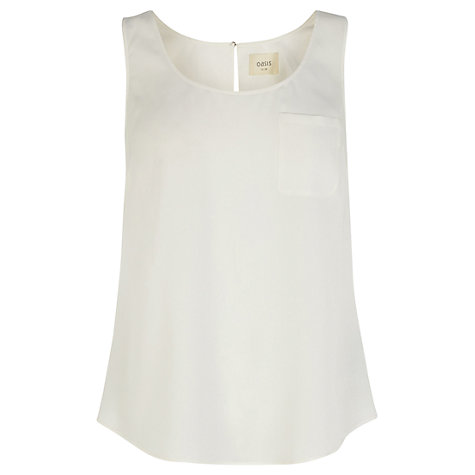 Buy Oasis Plain Vest Online at johnlewis.com