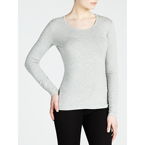 Buy Weekend by MaxMara Multia T-Shirt, Light Grey Online at johnlewis.com