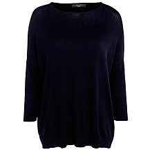 Buy Weekend by MaxMara Narva Cowl Jumper, Midnight Blue Online at johnlewis.com