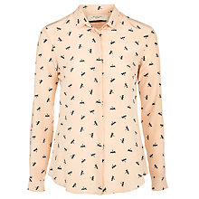 Buy Weekend by MaxMara Silk Venas Shirt, Powder Pink Online at johnlewis.com