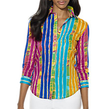 Buy Lauren by Ralph Lauren Lulu Shirt, Multi Online at johnlewis.com