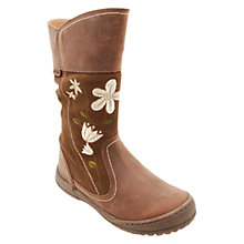 Buy Start-rite Picturesque Leather Boots, Brown Online at johnlewis.com