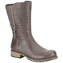 Buy Clarks Childrens' Kelpie Heidi Boots, Brown Online at johnlewis.com