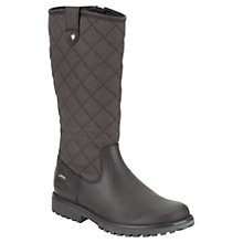 Buy Clarks Children's Rhea Wish Boots, Black Online at johnlewis.com