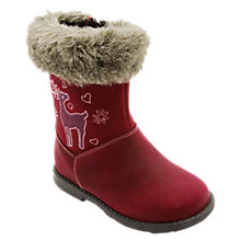 Buy Start-rite Aqua-rite Twilight Calf Boots, Berry Online at johnlewis.com