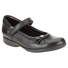 Buy Clarks Daisy Spark Leather Shoes, Black Online at johnlewis.com