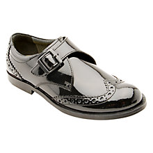 Buy Start-rite Cotswold Patent Buckle Shoes, Black Online at johnlewis.com