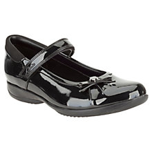 Buy Clarks Daisy Spark Patent Leather Shoes, Black Online at johnlewis.com