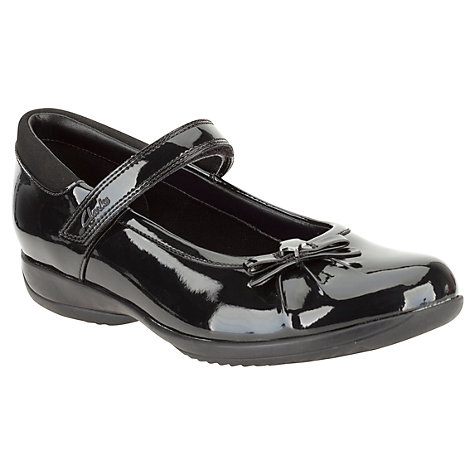 buy clarks spark patent leather shoes black