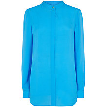 Buy Fenn Wright Manson Frida Silk Shirt, Malibu Blue Online at johnlewis.com